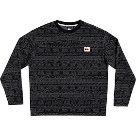 Quiksilver Heritage Printed T-shirt Col ras-du-cou Homme, black tonal heritage